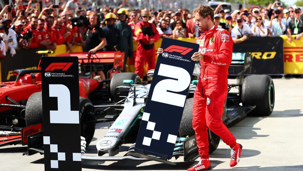 Sebastian Vettel al GP di Canada
