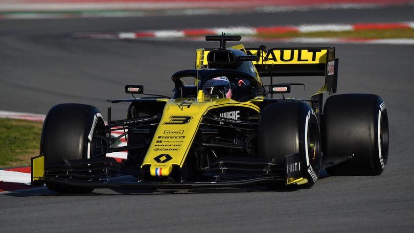 Daniel Ricciardo al gran premio di Francia