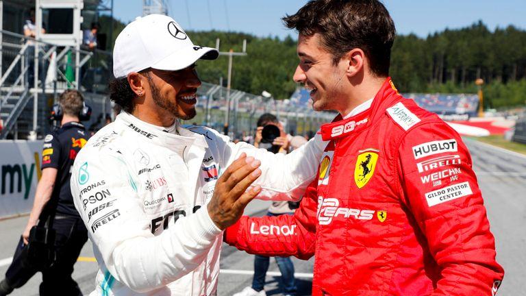 qualifiche GP d'Austria pole per Charles Lecrerc