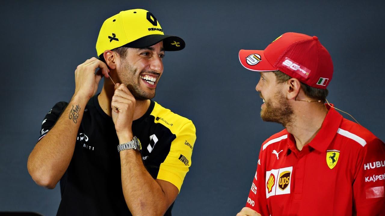 Ferrari Ricciardo