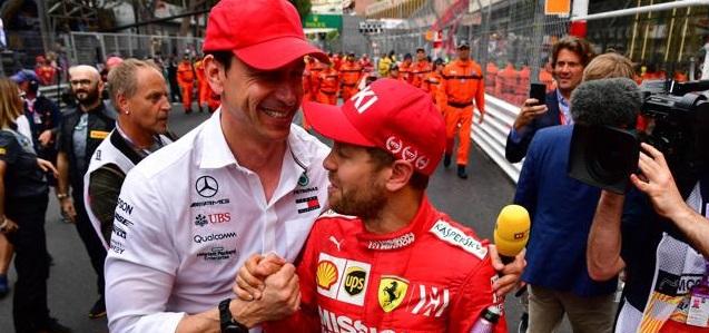 F1 Toto Wolff Ferrari