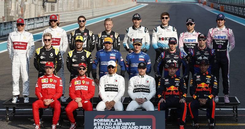 F1 piloti 2019