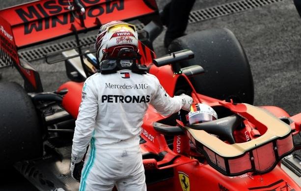 Hamilton Ferrari